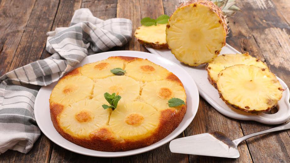 Tort de post cu ananas