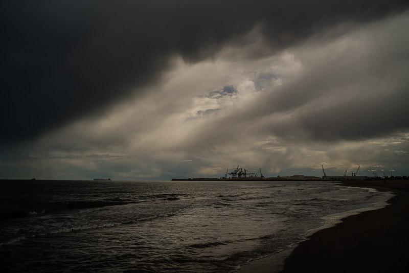 Plaja din Castellón de la Plana, aprilie, 2019