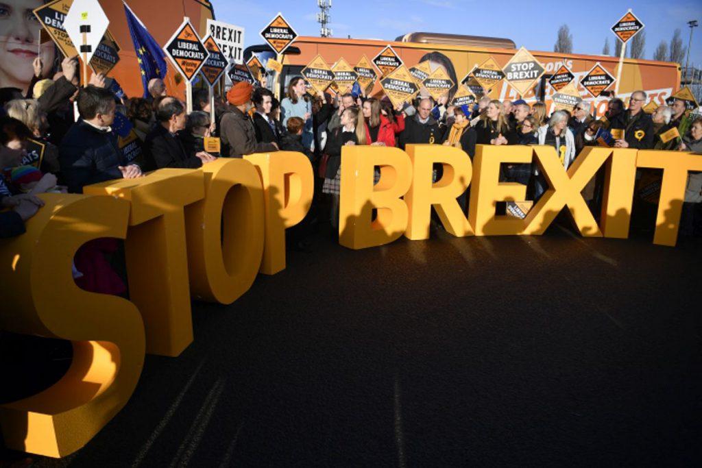 Liberal-Democrații militează împotriva Brexit-ului FOTO: EPA