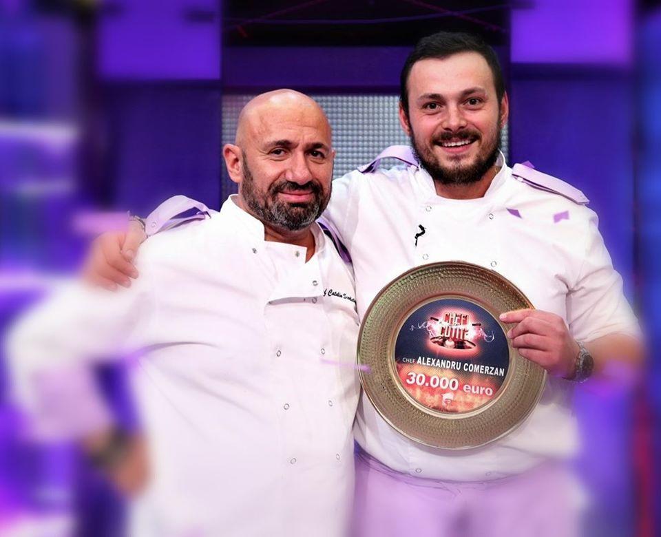 Alexandru Comerzan a câștigat Chefi la cuțite