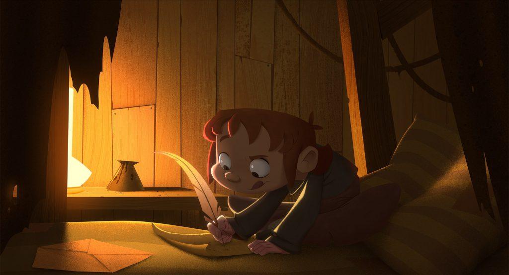 klaus animație moș crăciun