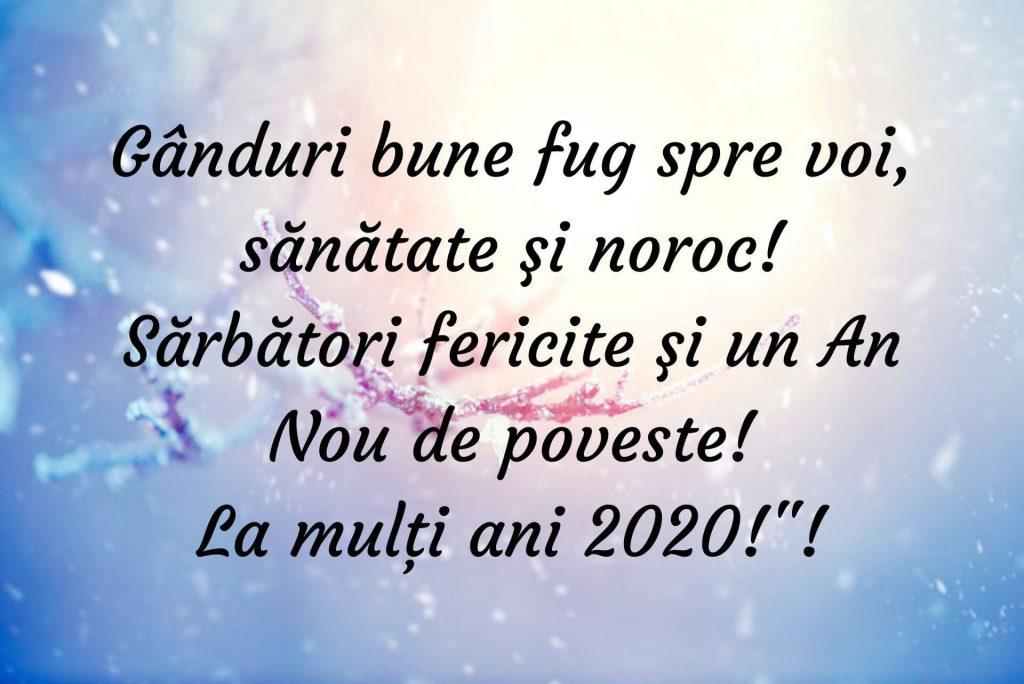 Mesaje de trimis de Anul Nou!