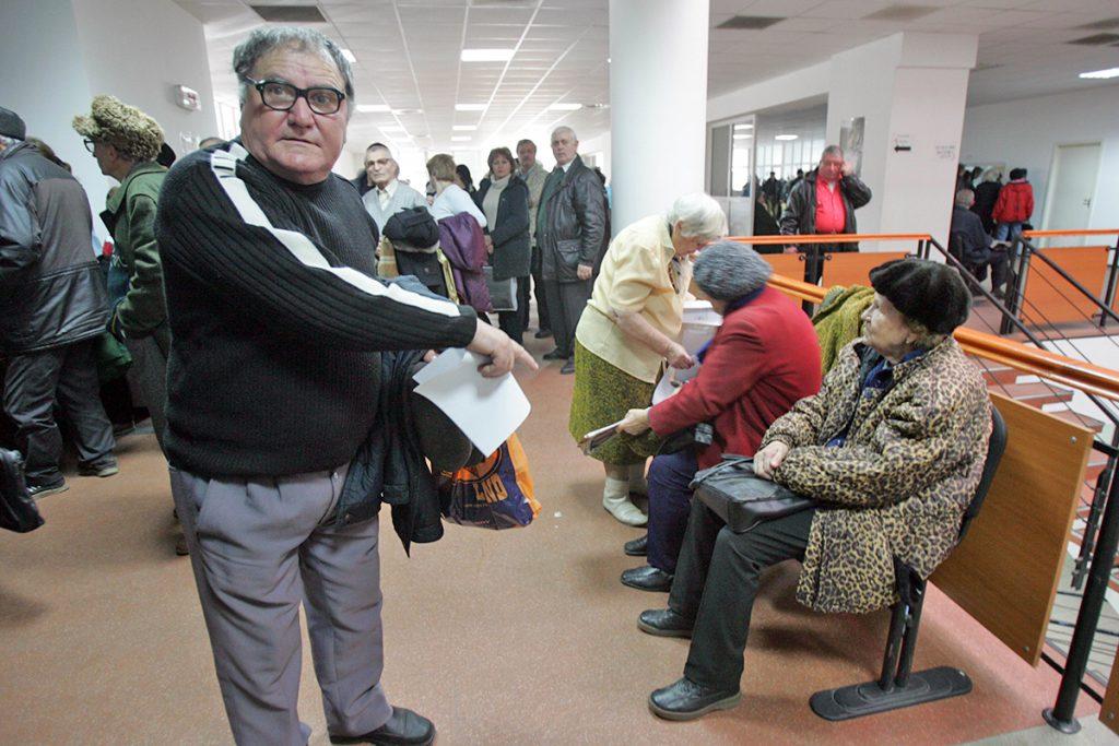 pensionarea la 70 de ani - pensionari la Casa de Pensii București