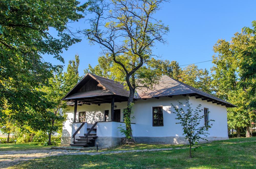 Casa memorială Mihai Eminescu - sat Ipotești, jud Botoșani