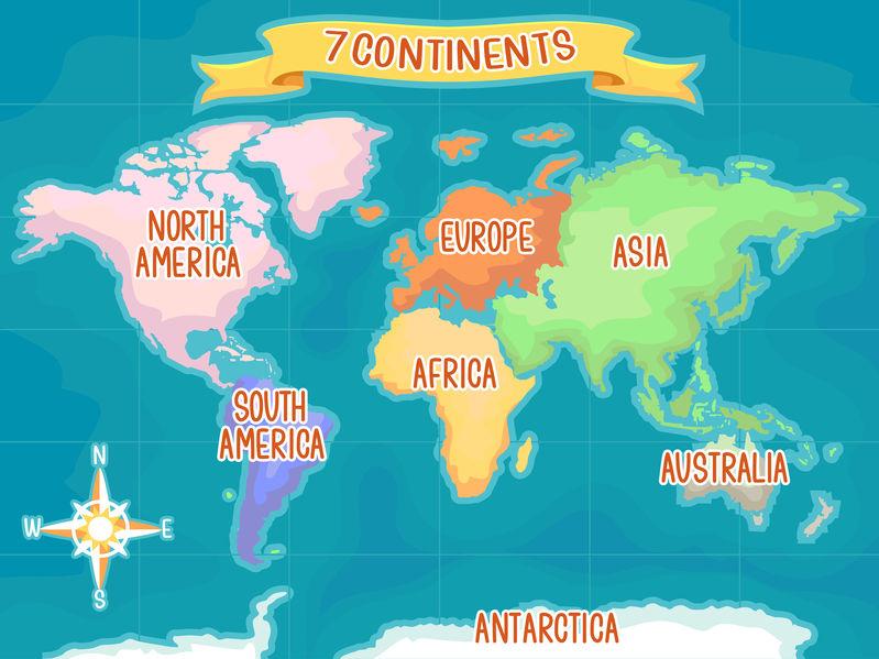 Cate Continente Sunt Pe Glob și Află Cum Se Numesc Libertatea