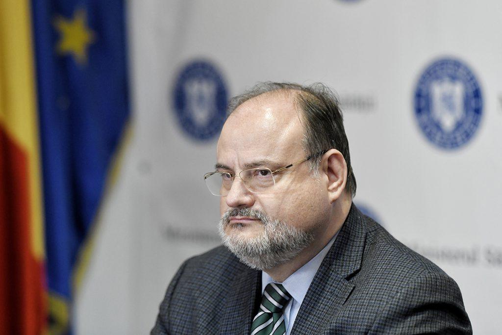 Horatiu Moldovan, secretar de stat in ministerul Sanatatii, participa la o conferinta de presa, in Bucuresti, miercuri, 29 ianuarie 2020. ANDREEA ALEXANDRU / MEDIAFAX FOTO