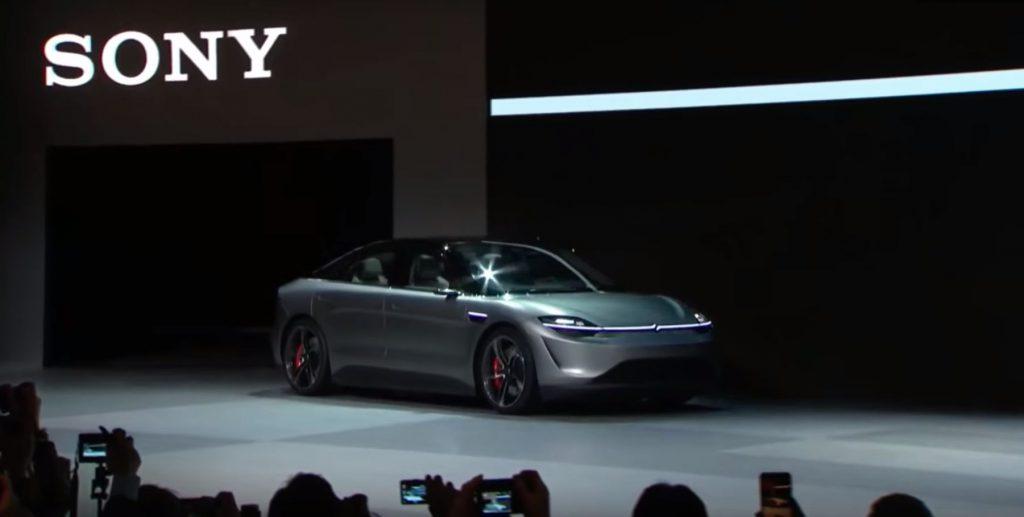 Gadgeturile viitorului, prezentate în Las Vegas. De la televizorul de 7 metri la Lamborghini-ul cu Alexa și mașina electrică Sony. Sony Vision-S, mașina electrică prezentată de Sony la CES 2020