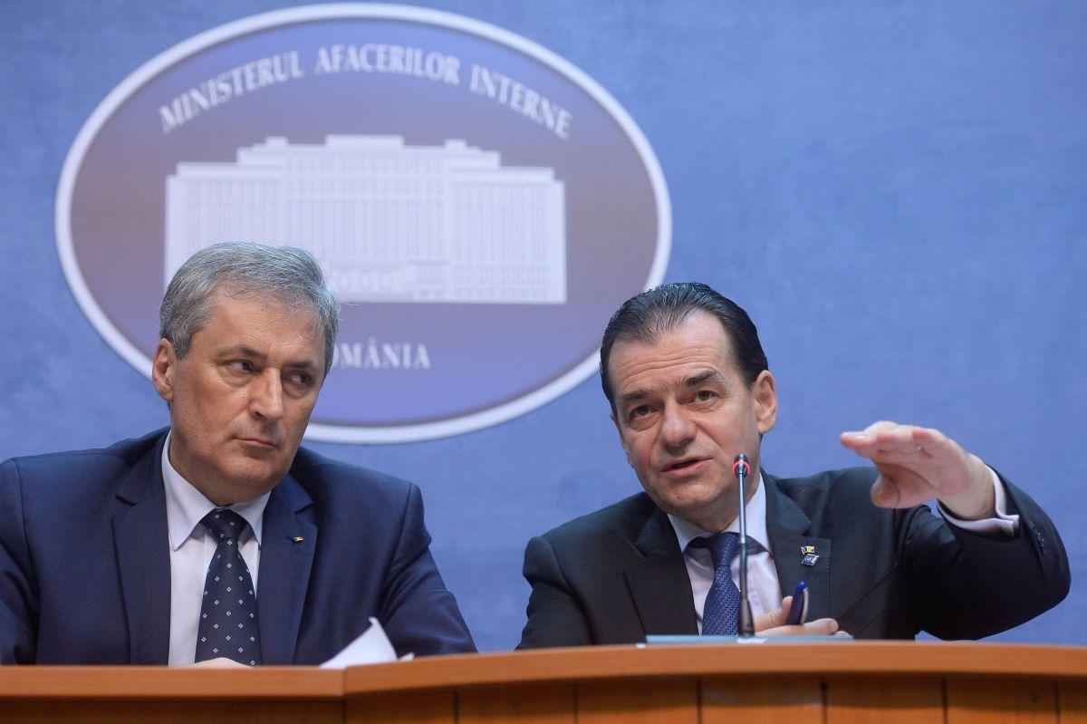 Ludovic Orban, întâlnire De Lucru La Ministerul De Interne ...