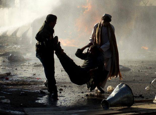 Zeci de morți și de răniți în Afganistan, după un atac asupra unei piețe de animale