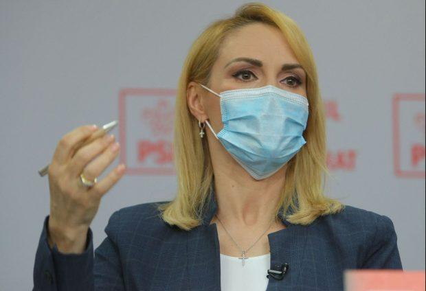 Gabriela Firea: Ministerul Sănătății ar trebui să decidă ca bolnavii de coronavirus asimptomatici să fie lăsați acasă
