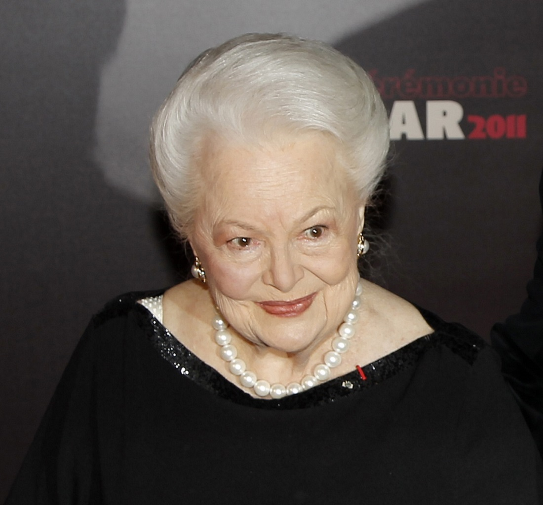 Actress Olivia de Havilland, the latest Hollywood legend, known from
