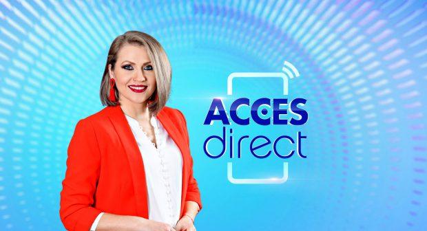 Un nou caz de coronavirus la Antena 1. Filmările pentru emisiunea Acces Direct au fost suspendate temporar