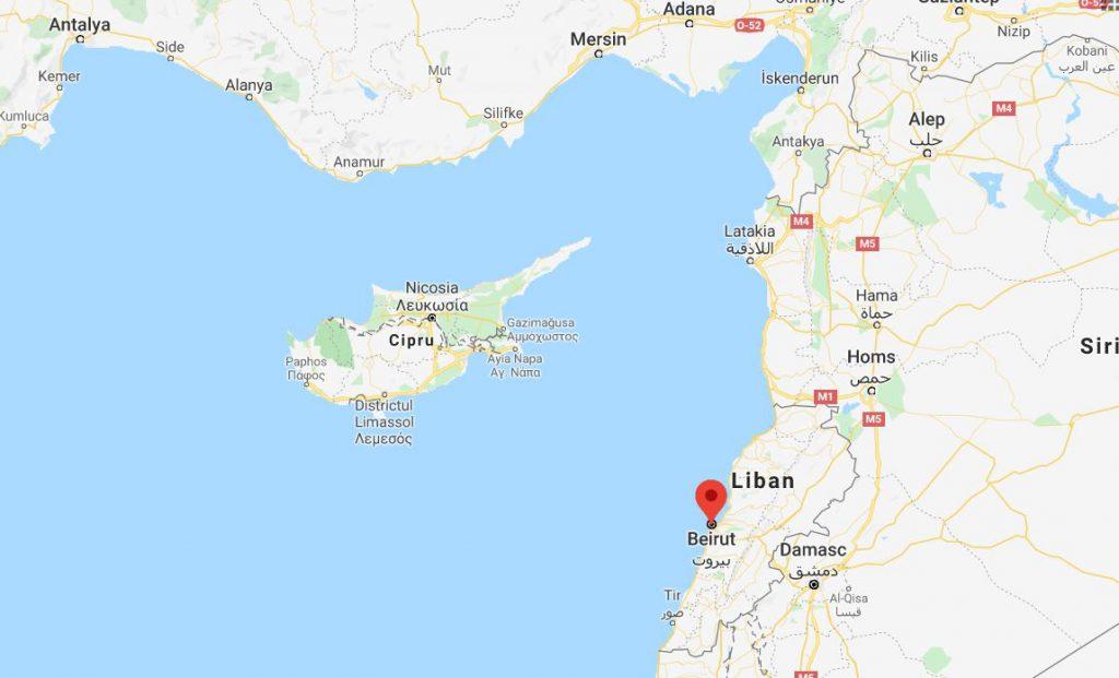 Exploziile din Beirut s-au resimțit în Cipru. Oamenii au crezut că e cutremur
