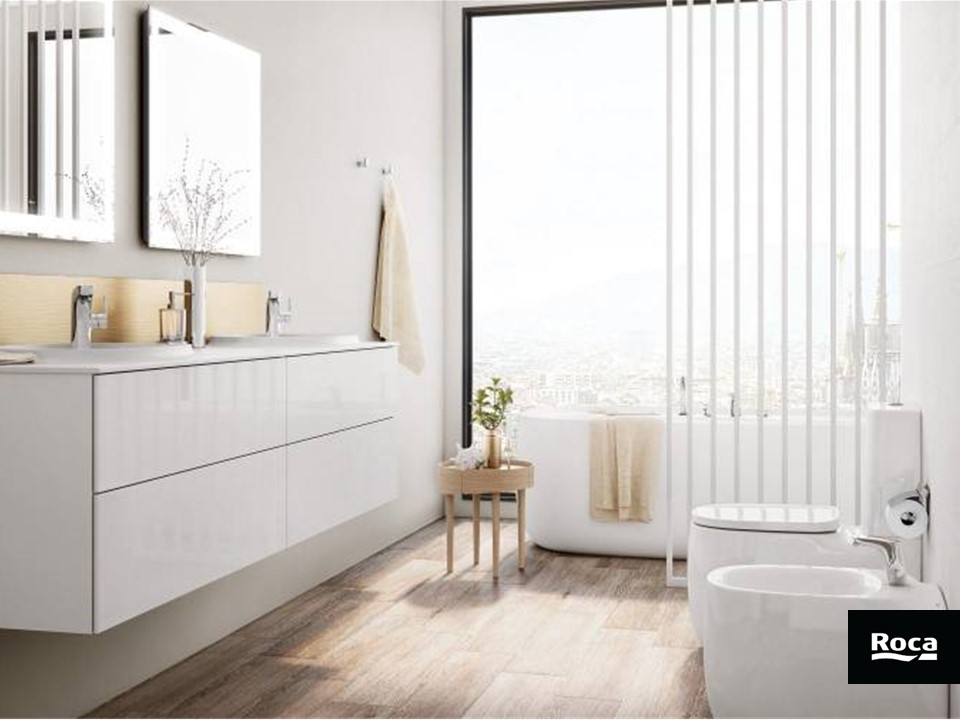 (P) 5 Unități de mobilier pentru camera de baie destinate unui număr de 5 tipuri de cămine