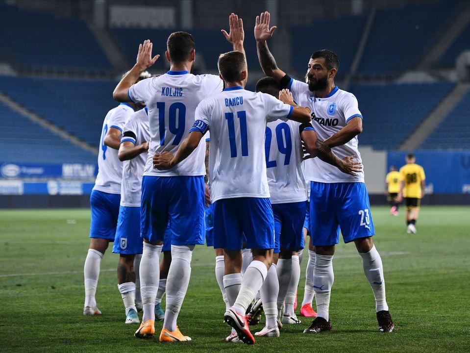 Liga 1, etapa a patra. Craiova trece greu de Voluntari și revine pe primul loc