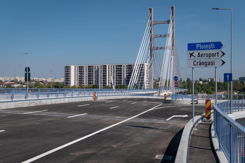 Pasaj Ciurel – Lucrările avansează la podul hobanat peste ...  |Podul Ciurel