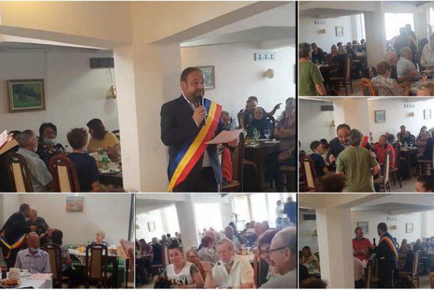 Cum a mascat un primar UDMR din Bihor mita electorală, organizând o petrecere pentru vârstnici. Poliţia a descins la restaurant