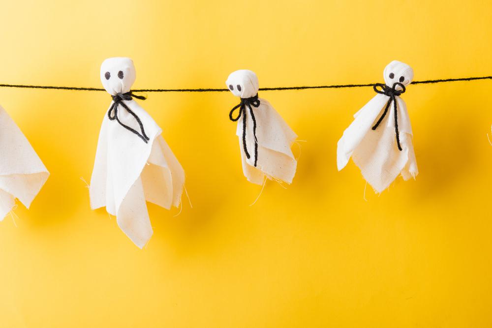 Fantomițe din pânze pentru petrecerea tematică