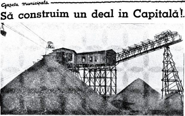 Planul inedit al bucureștenilor de acum 80 de ani: Construirea unui deal al Capitalei