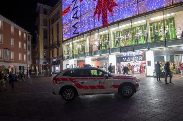Posibil atac terorist, comis de o femeie într-un magazin din Lugano, Elveția