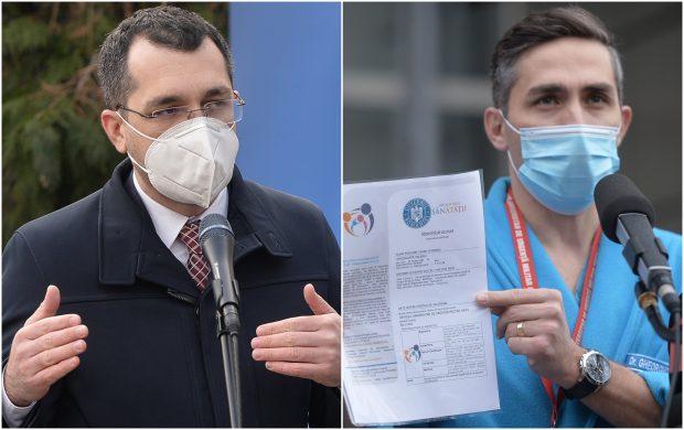 Premierul Cîțu, despre un conflict între Vlad Voiculescu și Valeriu Gheorghiță: Ministrul Sănătății nu are are nicio atribuție pe tema schimbării șefului vaccinării