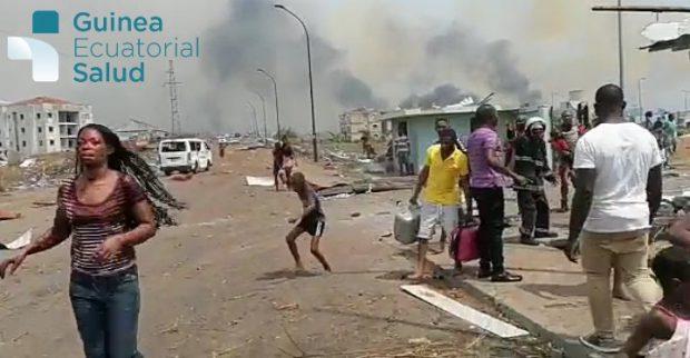 15 morți și peste 500 de răniți, după o serie de explozii la un depozit de muniție din Guineea Ecuatorială. Cartiere întregi din capitală au fost spulberate