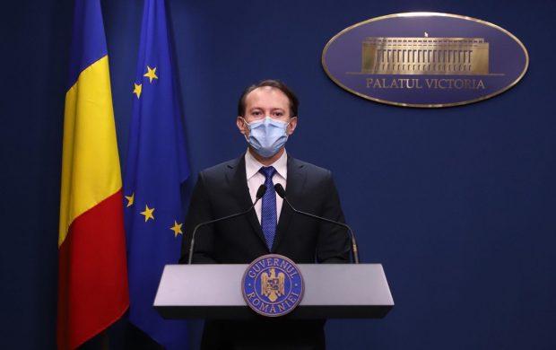 Premierul Florin Cîțu preia interimatul la Ministerul Sănătății, după ce Dan Barna a refuzat funcția