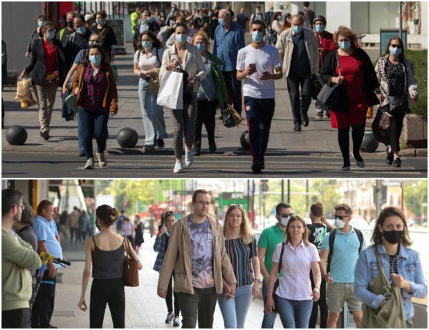 De un an au avut nevoie românii să învețe să poarte masca pe stradă și doar de o zi ca să renunțe la ea
