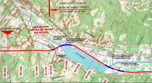 """Ministrul Transporturilor: """"Lucrările pot începe la Autostrada A1 Pitești-Curtea de Argeș"""""""