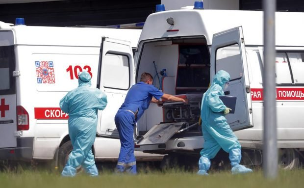Număr fără precedent de infectări în 24 de ore, în Moscova. Peste 9.100 de cazuri confirmate