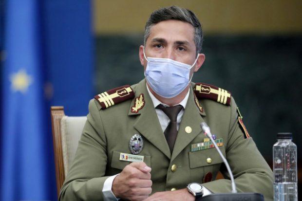 Valeriu Gheorghiţă: La 15 octombrie am putea să depășim 17.000 de cazuri COVID pe zi