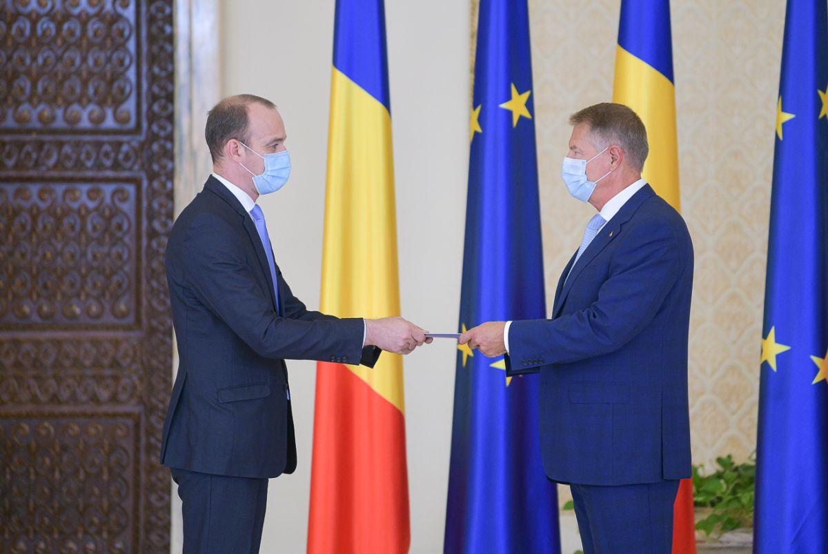 Dan Vîlceanu, Noul Ministru De Finanțe. A Depus Jurământul La Palatul  Cotroceni   Libertatea
