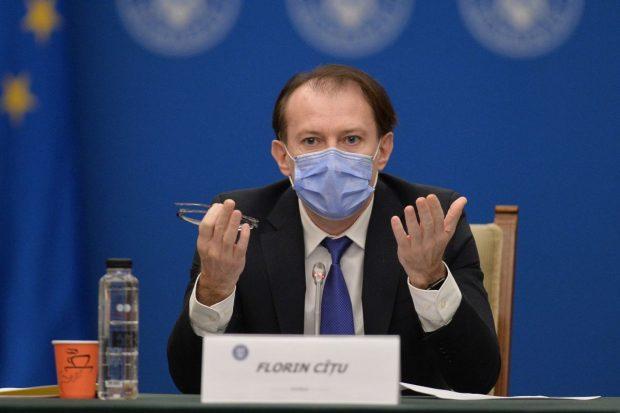 """Florin Cîțu, către prefecți: """"Să ne asigurăm că avem capacitate de vaccinare intactă, să nu se închidă niciun centru"""""""