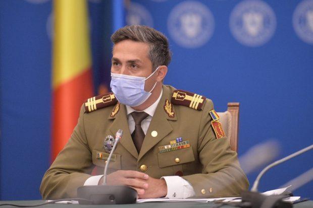 Valeriu Gheorghiţă: La 15 octombrie am putea să depăşim 17.000 de cazuri COVID pe zi, media la 7 zile