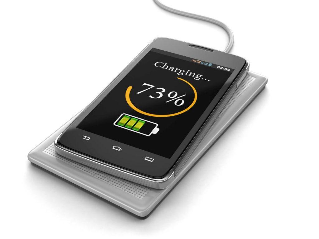 Telefon incarcat wireless
