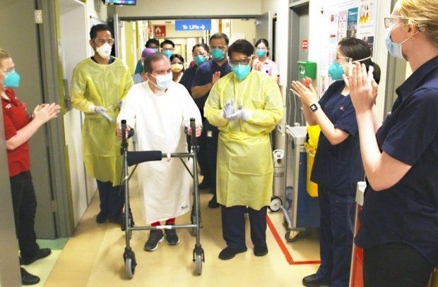 """Un australian infectat cu COVID a stat în spital 399 de zile! """"Virusul e real și eu sunt cea mai bună dovadă"""""""