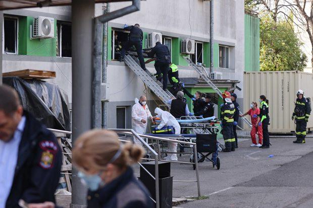 Încă un pacient salvat din incendiul de la Constanța a murit. Este al treilea în ultimele 24 de ore