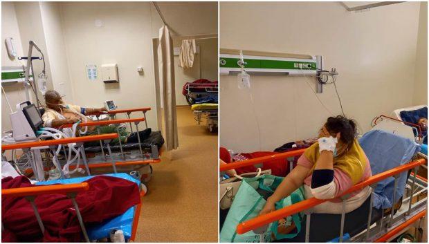 """""""O fărâmă din imaginea COVID-19"""" de la un spital din Iași. Medic: """"Cea mai mare teamă este să nu mai avem ventilatoare"""""""
