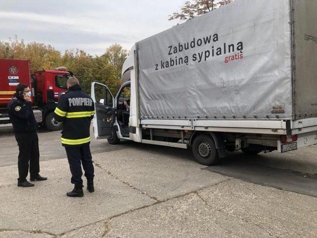 România a primit din partea Poloniei 50 de concentratoare de oxigen. Aparatura, destinată spitalului modular de la Lețcani